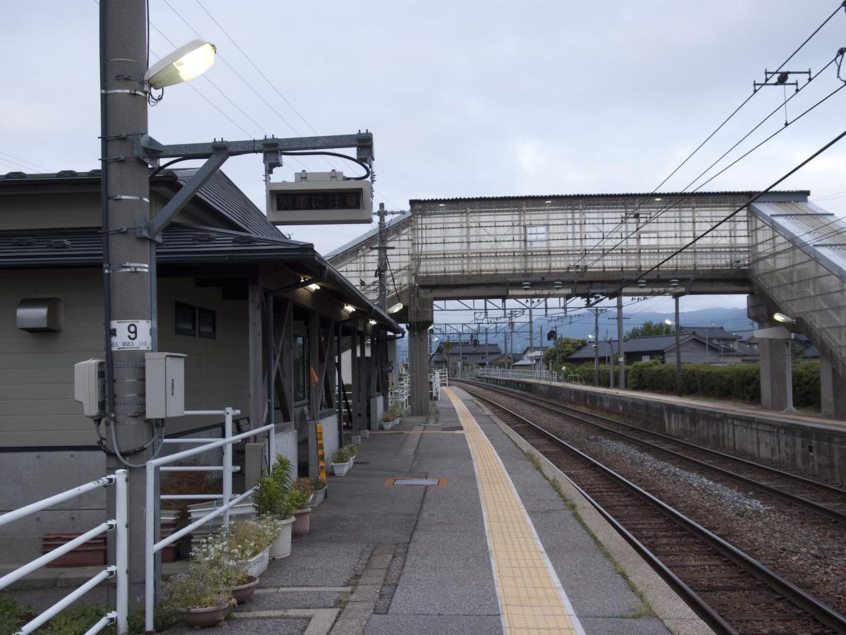 金丸駅の情報、写真、印象記(石...