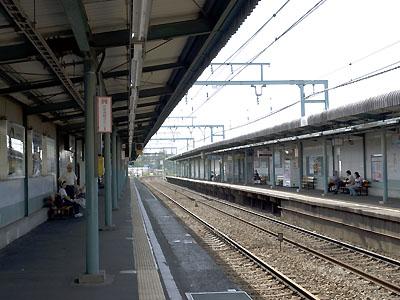 京急本線 屏風浦駅(神奈川県横...