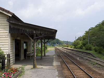 月崎駅(千葉県:小湊鉄道)