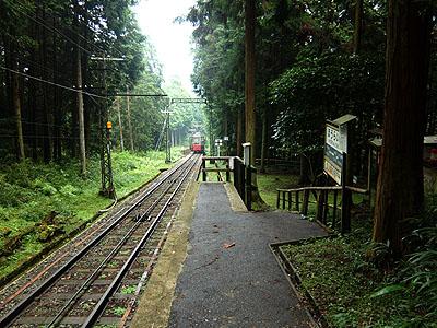 ほうらい丘駅(滋賀県:比叡山鉄...