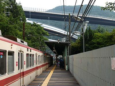 五社駅(兵庫県:神戸電鉄-三田...